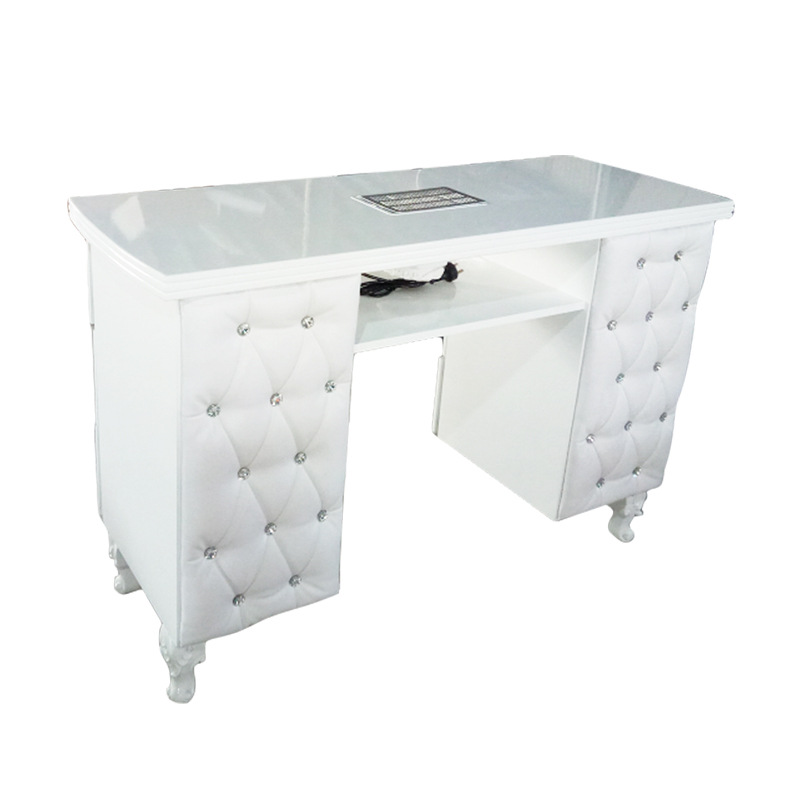 M702B Modern manicure table with Draugh Fan
