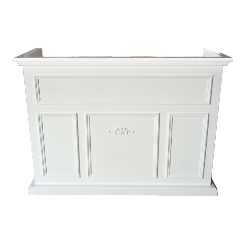 RD004 Vintage painted commercial reception desk